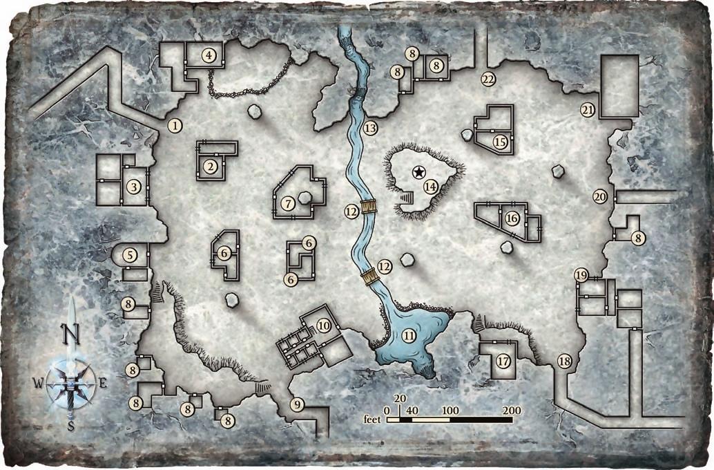 Karte der Siebensäuligen Halle (zum Vergrößern klicken)